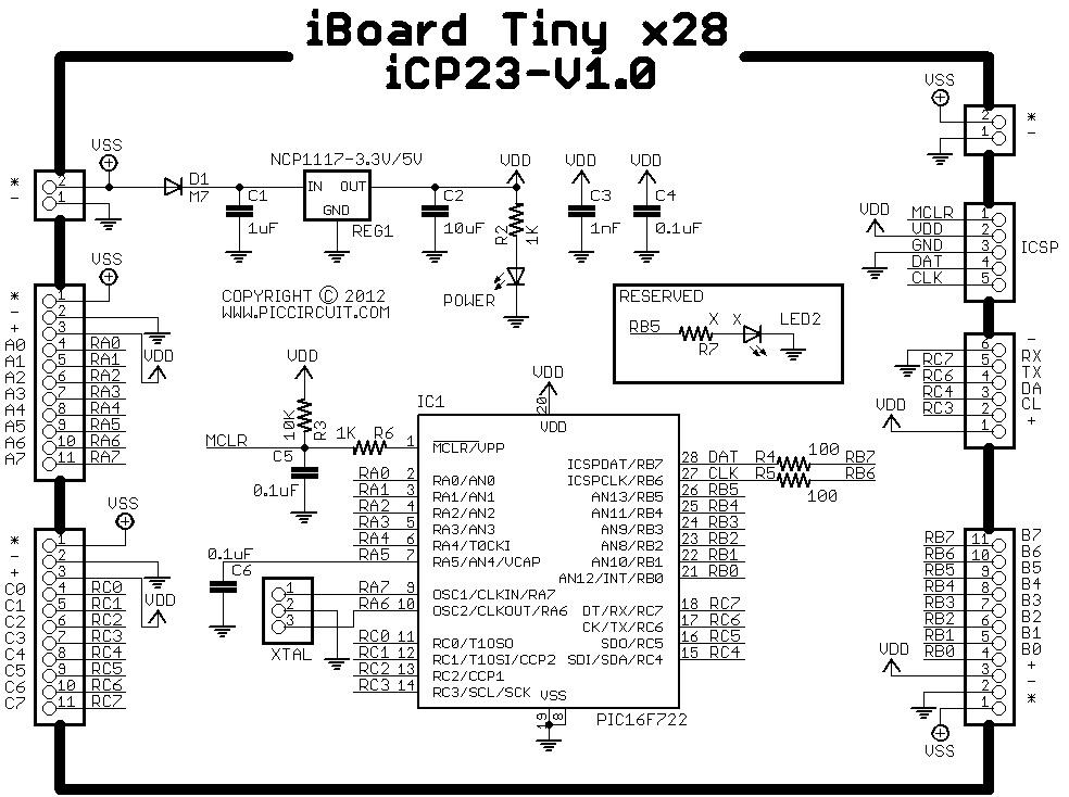 Pic16f876 datasheet