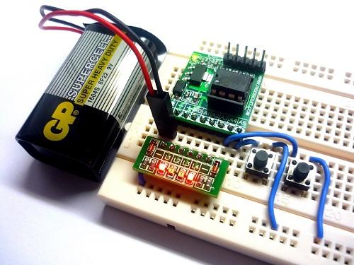 iCP07 with iCM01 LEDs Module