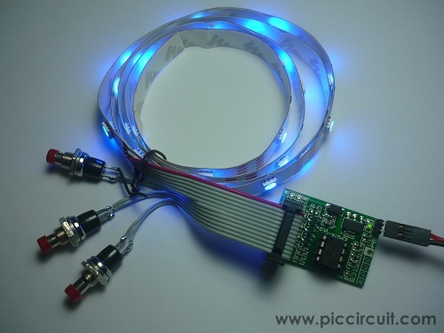 iCP07A with RGB LED strip