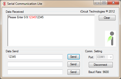 Serial Communication Lite v1.0