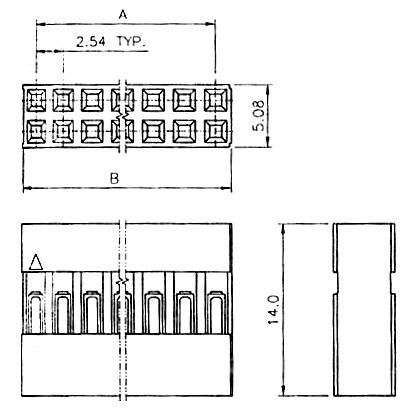 Pin Housing 2x6