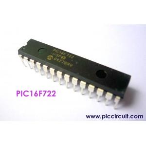 PIC16F722-I/SP (PDIP-28)