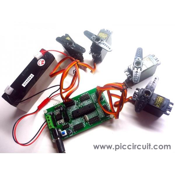 Tutorial 6 servo motor demo for How to program servo motor
