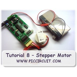 Tutorial 08 - Stepper Motor Demo (Free)