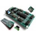 iCA02 - iBoard Lite Set (Microchip 28-pin PIC16 & PIC18 Development Board)