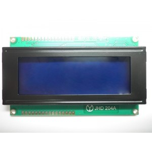 4x20 LCD Display (Blue Backlight)