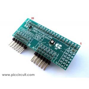 iCM19B - External LCD Port (128x64 GLCD)