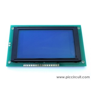 128x64 Graphic LCD Display (Blue Backlight)