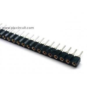 SIP Socket (2.54mm, Straight, 1x40 Way)