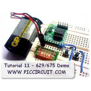 Tutorial 11 - 629/675/683 IO & ADC Demo