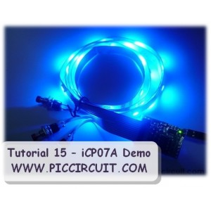Tutorial 15 - iCP07A Demo (30x RGB LED Strip)