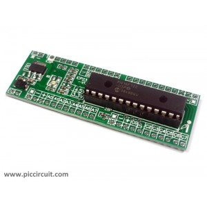 iCP23 - iBoard Tiny x28 (Microchip 28-pin PIC16 & PIC18 Development Board)