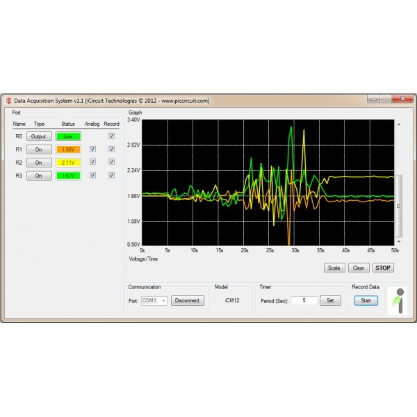 Data Acquisition Software : Software smartdaq data acquisition system