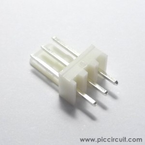 Wafer Header (2.54mm, Straight, 1x3 Way)