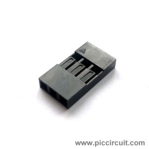 Pin Housing (2.54mm, 1x3 Way)