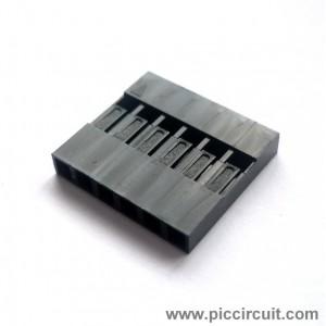 Pin Housing (2.54mm, 1x6 Way)