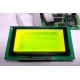 iCA05 - Graphic LCD Development Kit with Yellow Backlight GLCD