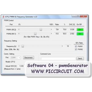 Software 04 - PWM & Frequency Generator