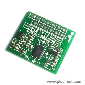 iCM32 - XYZ Axis Accelerometer (±1.5g, ±6g)