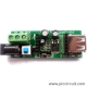 iCM27 - Power Supply Module (3.3V & 5.0V), Connector: USB Type A Female