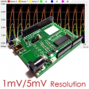 iCP12A - DAQduino (USB IO Control, DAQ, PC Oscilloscope, Data Logger, Frequency Generator in Arduino Form)