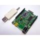 iCP12A Sub-G DAQduino (USB/Wireless IO Control, DAQ, PC Oscilloscope, Data Logger, Frequency Generator in Arduino Form)