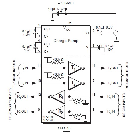 SP232E Wiring Diagrams