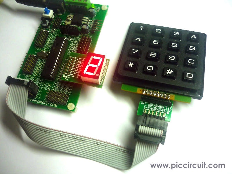 4x4 Keypad with iBoard