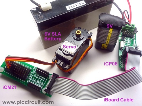 iCM21 with iCP06 & Servo Motor