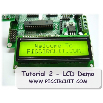 Tutorial 2 - LCD Demo (Free)