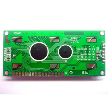 2x16 LCD Display (Blue Backlight)