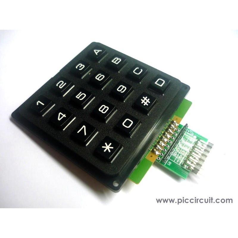 iCM07B - 4x4 Keypad