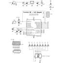 Tutorial 5A - 4x3 Keypad Demo Schematic