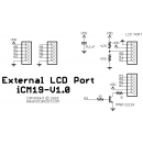 iCM19 - External LCD Port Schematic