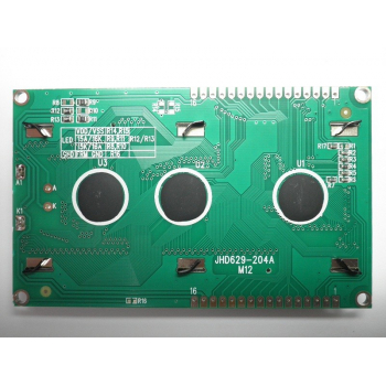 4x20 LCD Display (Blue Backlight) - Back Side