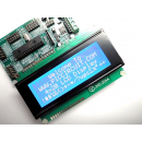 4x20 LCD Display (Blue Backlight) with iBoard