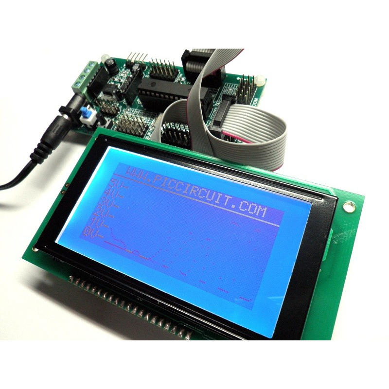 iCA05 - Graphic LCD Development Kit