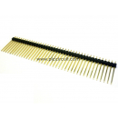 Pin Header (2.54mm, Straight, 1x40 Way, A:17mm)
