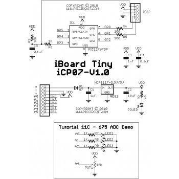 Tutorial 11C - 675 ADC Demo Schematic