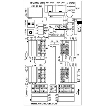 iCP05 - iBoard Lite Layout