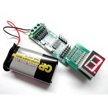 iCP06 - iBoard Mini with 7segment