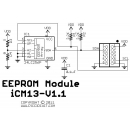 iCM13v1.1 - EEPROM Module Schematic