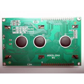 4x20 LCD Display (Yellow Backlight)