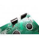4x20 LCD Display (Yellow Backlight) with Pin Socket