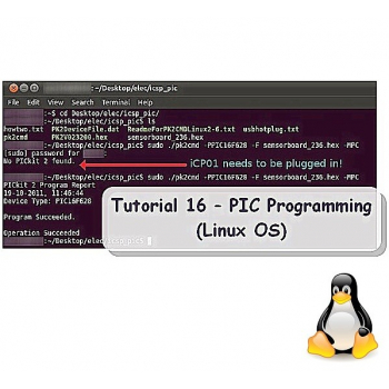 Tutorial 16 - PIC Programming (Linux OS)
