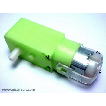 iM02C - DC Gear Motor (2.7Kg.cm, 3V-12V, 100rpm)