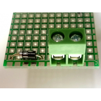 iCM05A - Blank IO Board with Diode & Screw Terminal