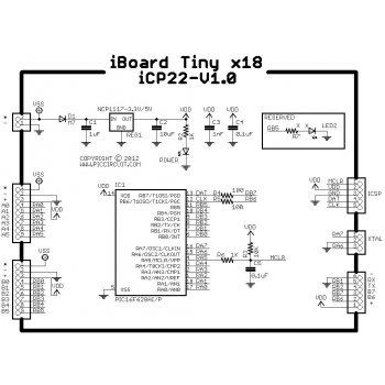 iCP22 - iBoard Tiny x18 Schematic