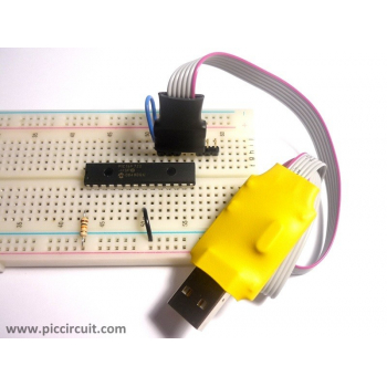 iCM12 - usbLink with breadboard