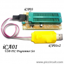 iCA01 - USB PIC Programmer Set (with iCP01v2)